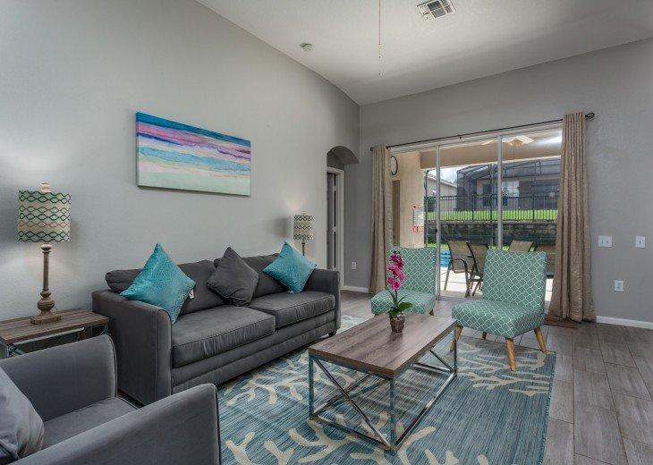 Discover newly refurbished 4 BR Windsor Palms Resort #9