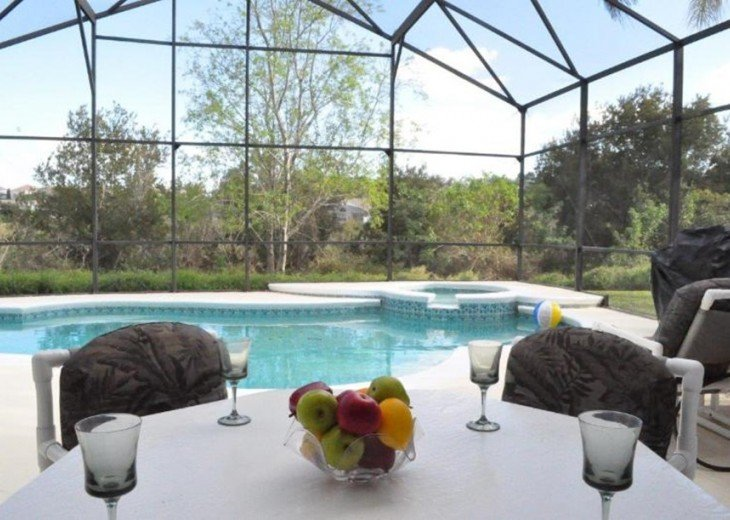 Lakeside pool villa, kissimmee 3 miles disney #5
