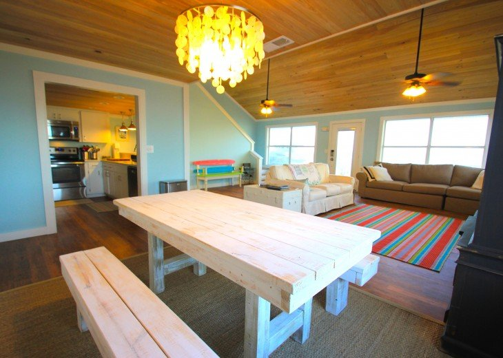 Cape San Blas House Rental: The Coconut Cottage Is GULF FRONT With Private  Tiki Hut!