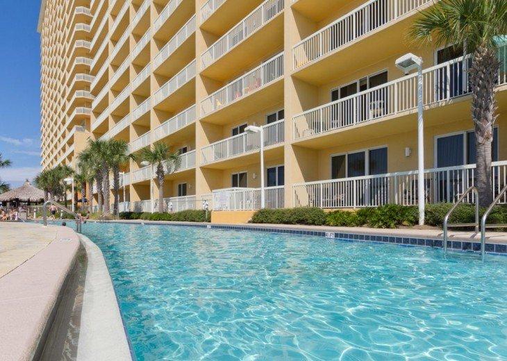 2 resort pools; one is heated.