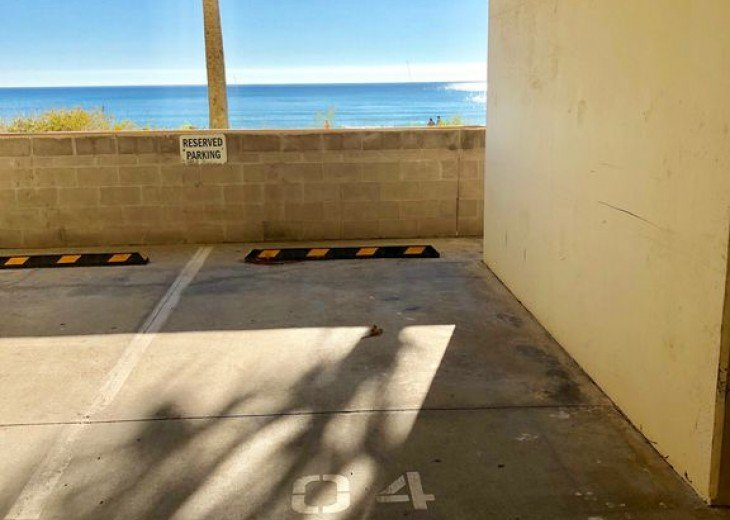 1st Floor Beach Front - Includes Private Parking + Beach Chairs (March - Oct) #44
