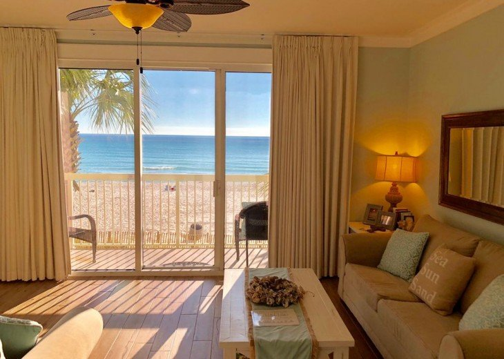 1st Floor Beach Front - Includes Private Parking + Beach Chairs (March - Oct) #36