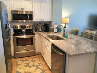 1st Floor Beach Front ~ Just Renovated and Includes Private Prkn + Beach Service #1