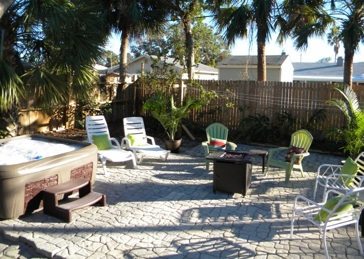 Florida Beach Retreat with Outdoor Hot Tub and Quick Walk to the Beach! #13