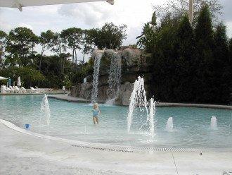 Lochness Pool has a sandy beach!