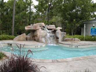 hot tub AND water fall!