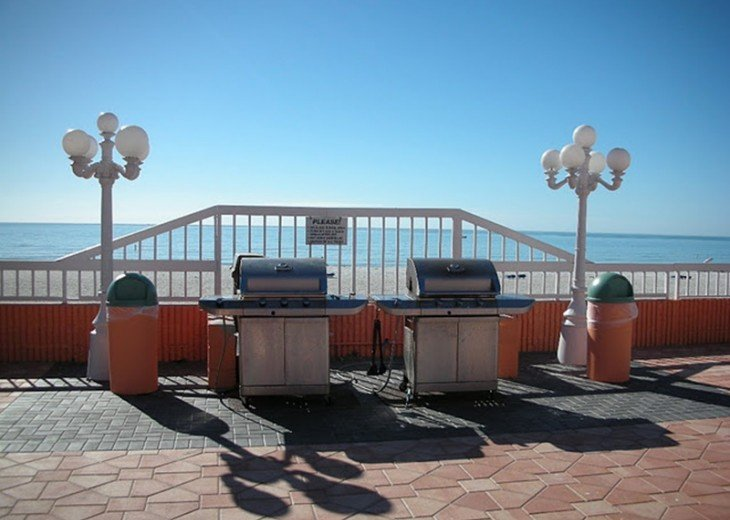 grills with a view!