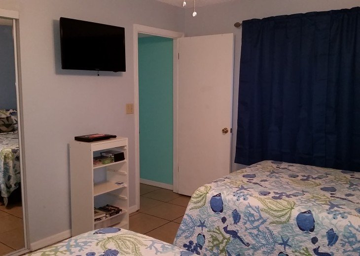 2ND BDRM WITH TV