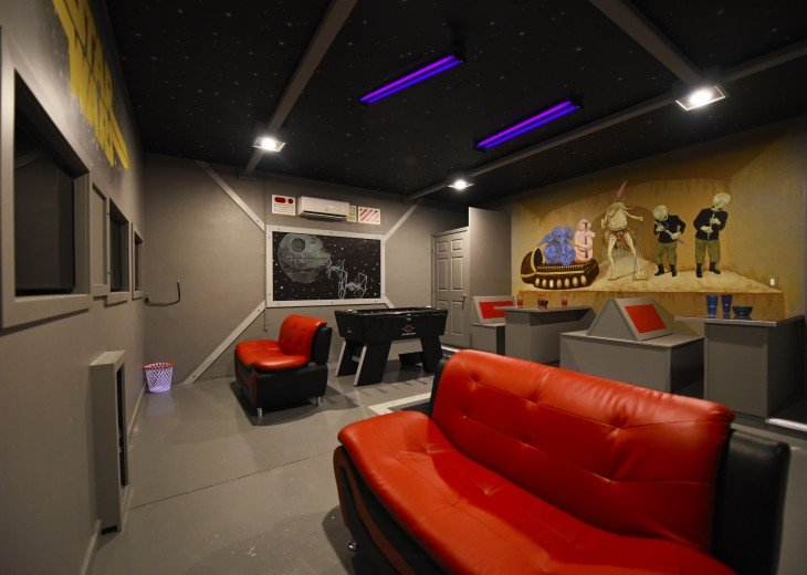 STAR WARS game room! NEW 7 bedroom Watersong pool house from $185 WR844 #25