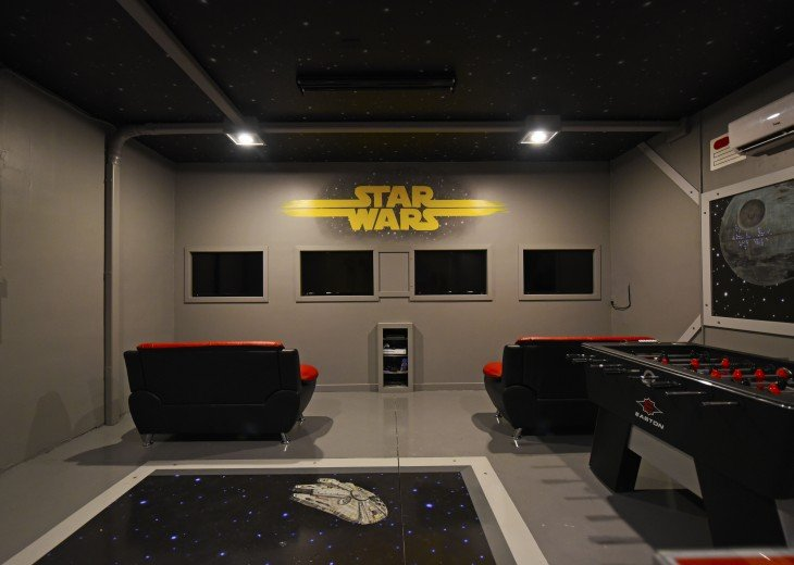 STAR WARS game room! NEW 7 bedroom Watersong pool house from $185 WR844 #24