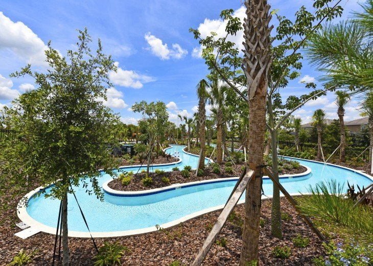 LAZY RIVER! NEW 6 bedroom Solterra pool home from $205 SR4164 #29