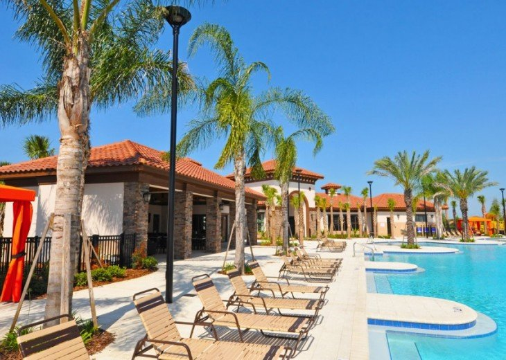LAZY RIVER! NEW 6 bedroom Solterra pool home from $205 SR4164 #33