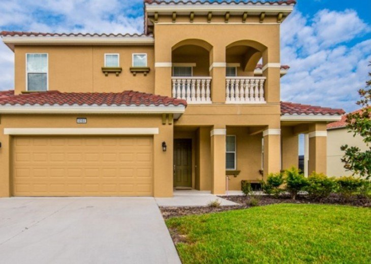LAZY RIVER! NEW 6 bedroom Solterra pool home from $205 SR4164 #2