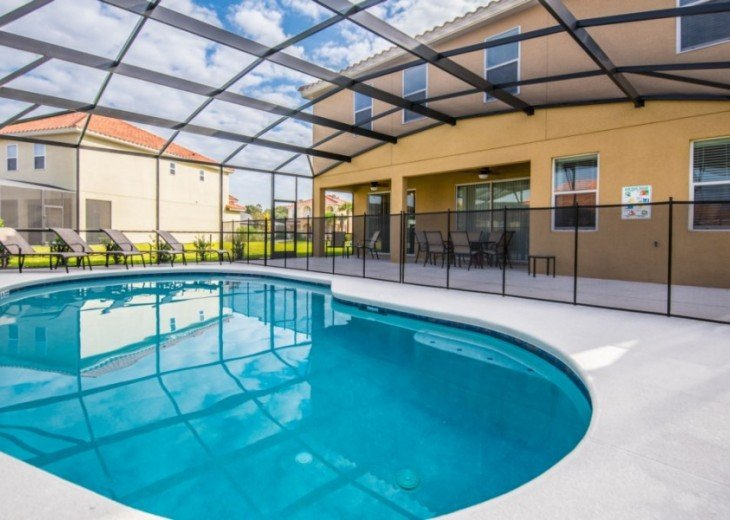 LAZY RIVER! NEW 6 bedroom Solterra pool home from $205 SR4164 #25