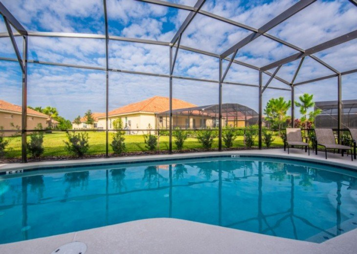 LAZY RIVER! NEW 6 bedroom Solterra pool home from $205 SR4164 #23