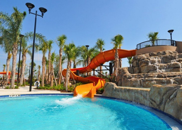 LAZY RIVER! NEW 6 bedroom Solterra pool home from $205 SR4164 #28