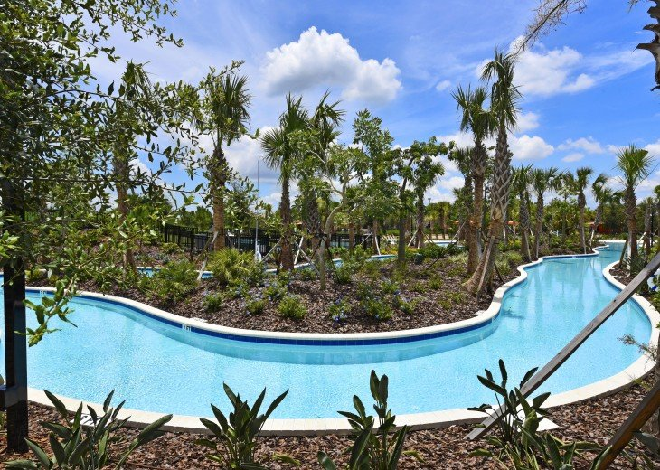LAZY RIVER! NEW 6 bedroom Solterra pool home from $205 SR4164 #30