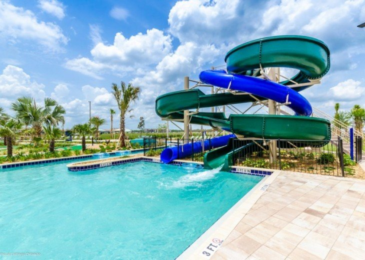 LAZY RIVER! 5 ENSUITES Storey Lake pool house +game room from $195 SL4724 #33