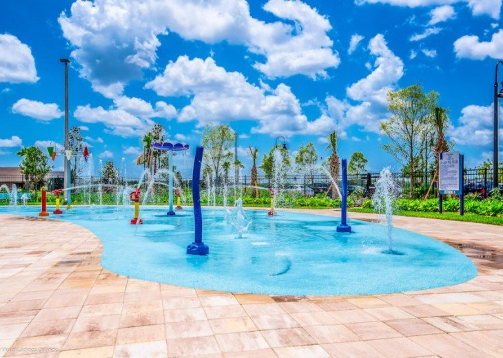 LAZY RIVER! 5 ENSUITES Storey Lake pool house +game room from $195 SL4724 #35