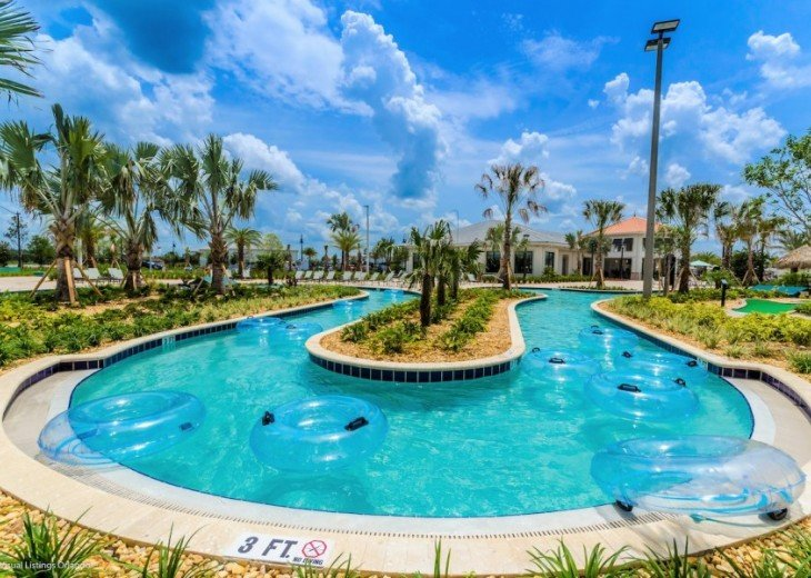 LAZY RIVER! 5 ENSUITES Storey Lake pool house +game room from $195 SL4724 #34