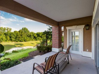 Porch Area Overlooking Golf Course