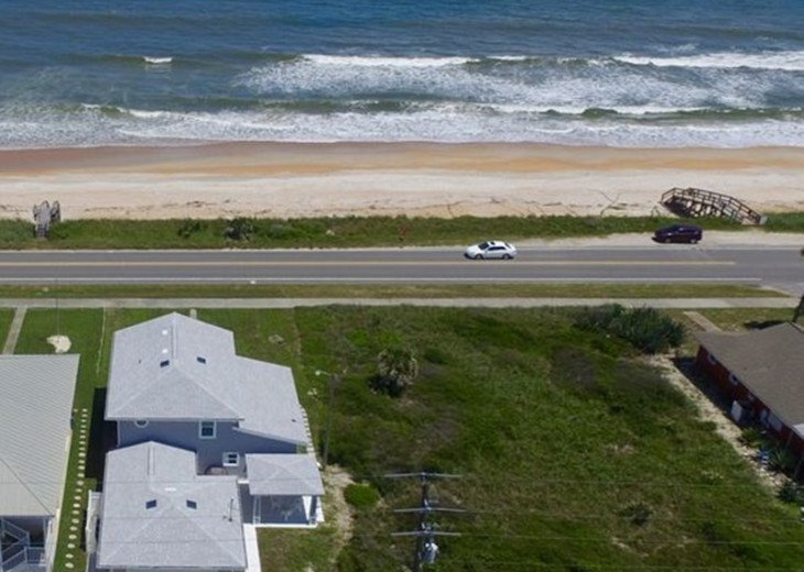 "BEAUTIFUL NEW 4/3 2 STORY DIRECT OCEAN ""Mo. Rtes Avl.""NEAR PALM COAST #3"