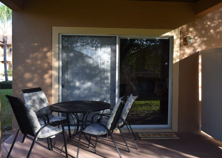 Back Patio with Privacy Panel