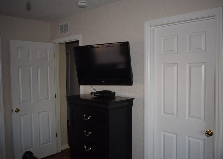 Wall Mounted Flat Screen TV's in Every Bedroom