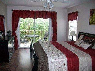 Second Floor King Master Suite w/ Balcony