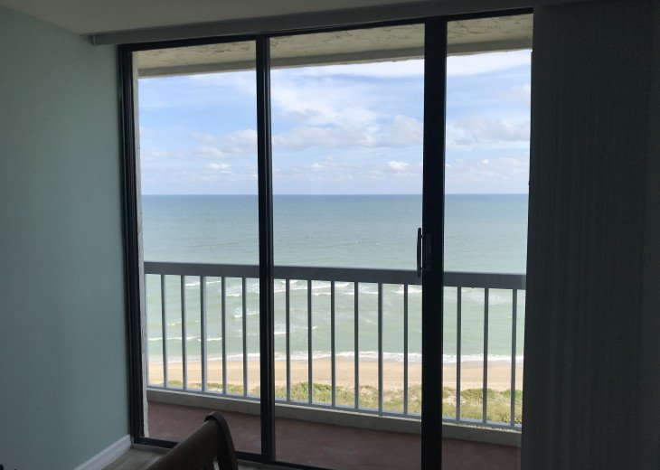 View of Ocean from Master Bed