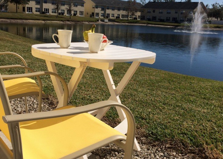 ENJOY BREAKFAST OR A SNACK ON OUR OUTDOOR PATIO...