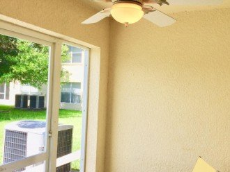 Stay Cool With our New Deck Ceiling Fan!