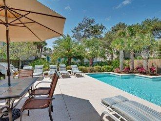 4 Bdrms, 3 kings + Q/T bunks, Private pool & beach! #1