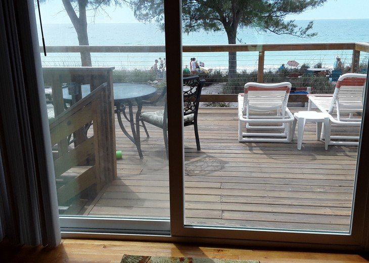 Gorgeous Direct Beachfront With Private Deck And Beautiful Sunsets #63