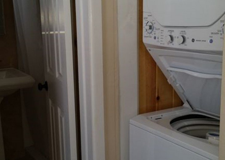 Washer and dryer in each unit