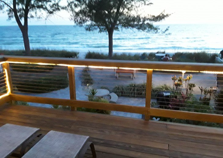 Gorgeous Direct Beachfront With Private Deck And Beautiful Sunsets #66