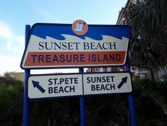 Sunset Beach, our beach