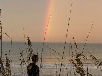 Rainbow on a beautiful morning