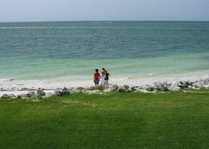 Our beautiful sugar sand beach