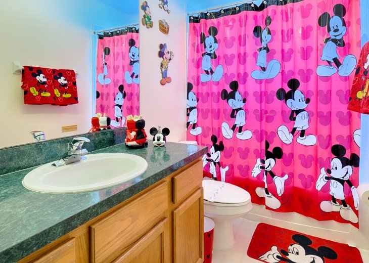 Mickey Theme Bathroom