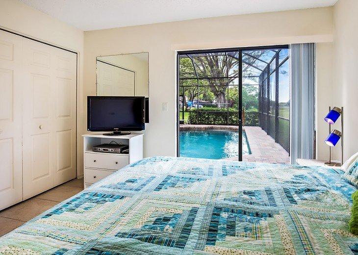 Poolside King Bedroom