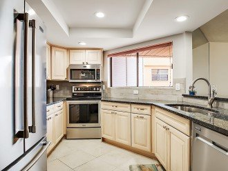 Go ahead cook a vacation sized meal in this fully stocked brand new kitchen