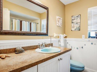 Second Bathroom with shower and tub