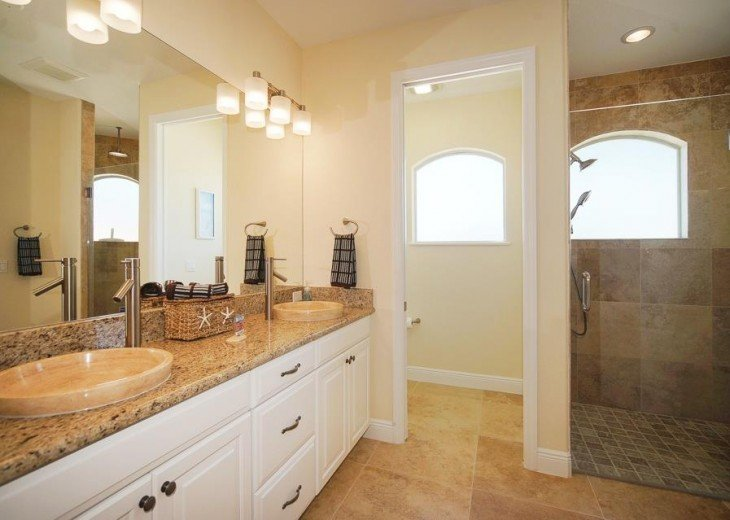 3rd bathroom of the Villa in Cape Coral, Florida
