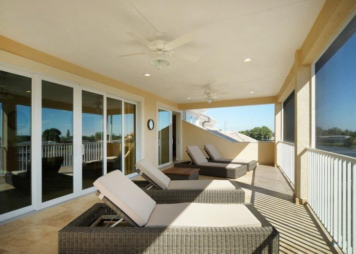 Balcony of the dream Villa in Cape Coral