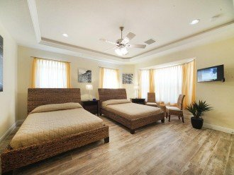 4. bedroom of the Villa in Cape Coral, Florida