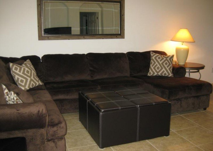 large comfortable living rm sofa
