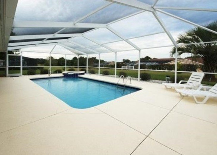 Great Golf Villa at Golf course with private pool #47