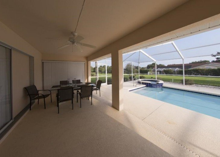 Great Golf Villa at Golf course with private pool #6