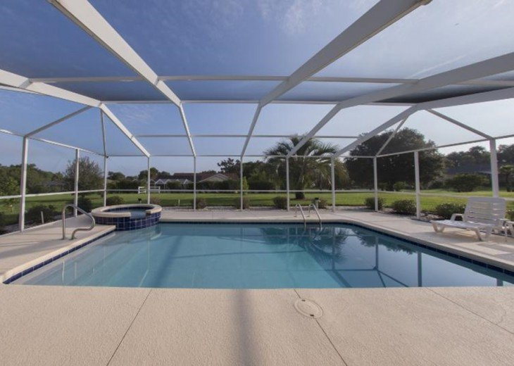 Great Golf Villa at Golf course with private pool #4